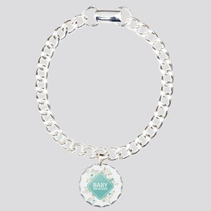 Baby on Board - Boy Charm Bracelet, One Charm