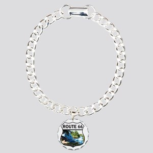 Discover History - Route Charm Bracelet, One Charm