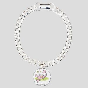 kidszodiacscorpio Charm Bracelet, One Charm