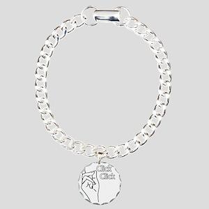 addams Charm Bracelet, One Charm