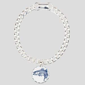 striper Charm Bracelet, One Charm