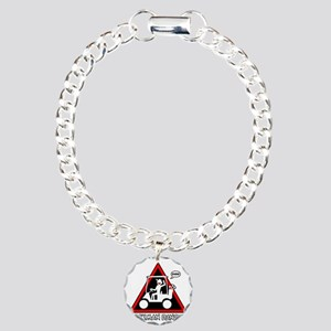 GOLF CART DUDE danger si Charm Bracelet, One Charm