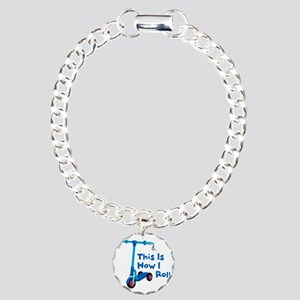 This Is How I Roll Charm Bracelet, One Charm