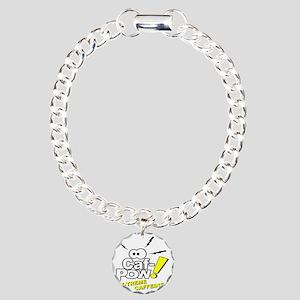 Caf-Pow of NCIS Fame Charm Bracelet, One Charm