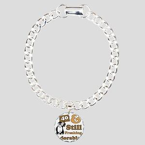 Adorable40 Charm Bracelet, One Charm