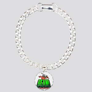 BEAN-Shirt-Looming Charm Bracelet, One Charm
