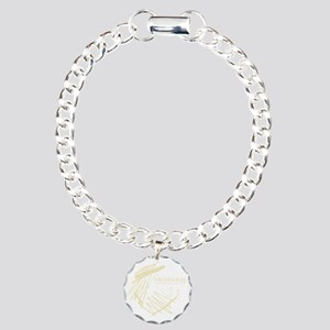 Microbiology Charm Bracelet, One Charm
