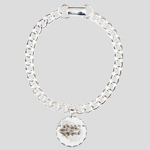 mustang1 Charm Bracelet, One Charm