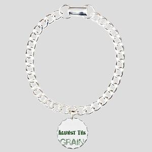 Paleo Dark Charm Bracelet, One Charm