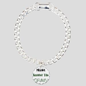 Paleo Charm Bracelet, One Charm