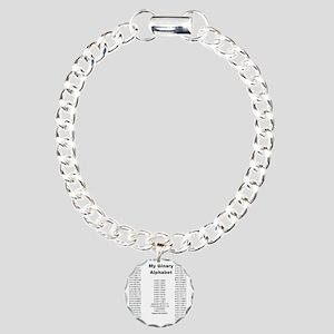 4-andrewshirt Charm Bracelet, One Charm