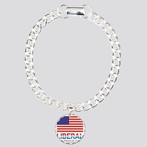 Liberalproud Charm Bracelet, One Charm