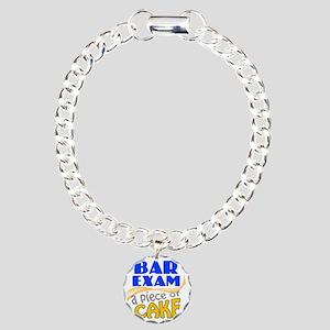 barexam-pieceofcake Charm Bracelet, One Charm