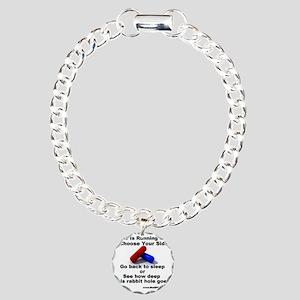 redpill Charm Bracelet, One Charm