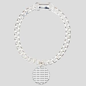 One More Level Tee Charm Bracelet, One Charm