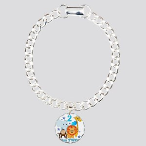 baby2JungleAnimals Charm Bracelet, One Charm
