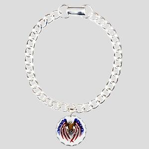 eagle2 Charm Bracelet, One Charm