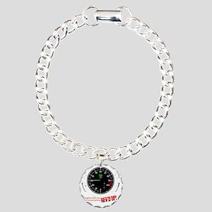 speedometer-30 Charm Bracelet, One Charm