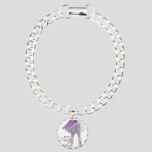 Pointe Charm Bracelet, One Charm
