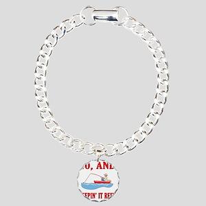 reel40 Charm Bracelet, One Charm