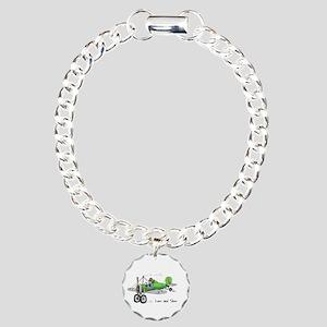 Low and Slow Charm Bracelet, One Charm