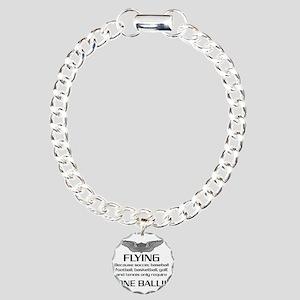 Flying-USArmy Charm Bracelet, One Charm