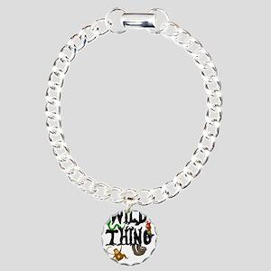 Wild Thing Charm Bracelet, One Charm