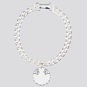 Mickey hands Charm Bracelet, One Charm