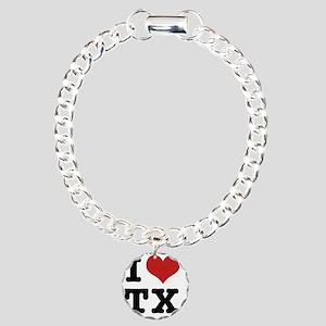 I love texas Charm Bracelet, One Charm