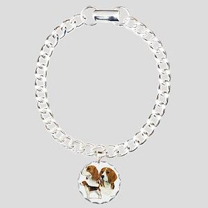Beagle Multi Charm Bracelet, One Charm