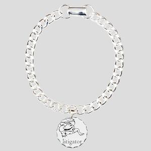 a litigator Charm Bracelet, One Charm