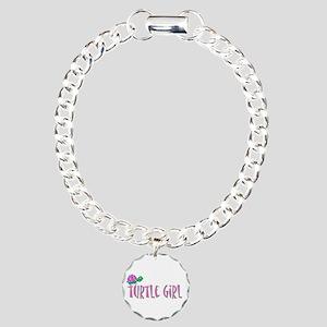 turtlegirl Charm Bracelet, One Charm