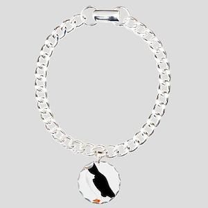 Pretty Puffin Charm Bracelet, One Charm