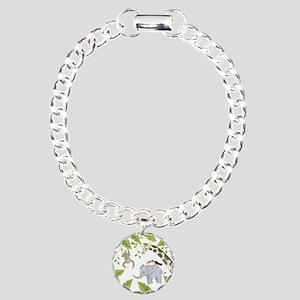 Jungle Animal Charm Bracelet, One Charm