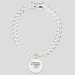 Ethiopia Roots Charm Bracelet, One Charm