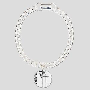 LOE_1 Charm Bracelet, One Charm