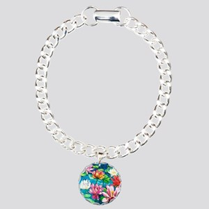 showercurtain681 Charm Bracelet, One Charm