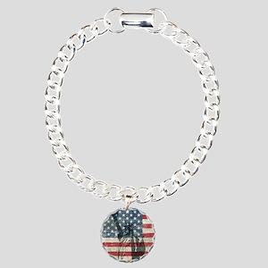 Vintage Charm Bracelet, One Charm