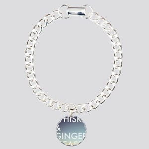 whisky and ginger, pleas Charm Bracelet, One Charm