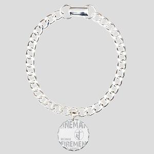 lineman because 1 Charm Bracelet, One Charm
