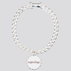 Chrysler New Imperial Crown Charm Bracelet, One Ch