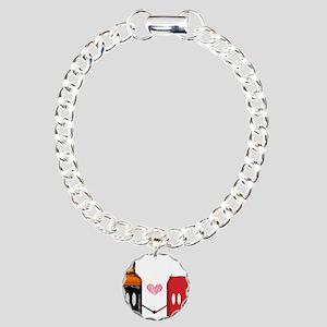 Jack and coke Charm Bracelet, One Charm