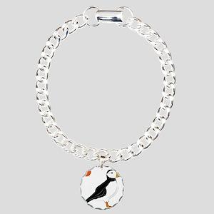 Puffin Bird Bracelet