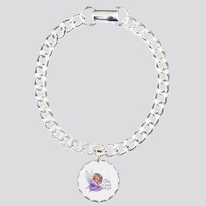 Guardian Angel Charm Bracelet, One Charm