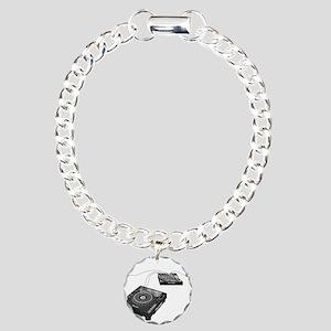 My CDJ Setup Charm Bracelet, One Charm