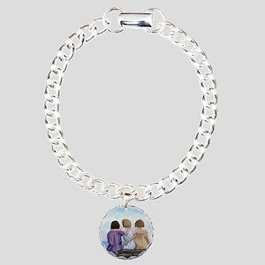 Sisters Charm Bracelet, One Charm