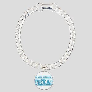 Texas - New Republic Charm Bracelet, One Charm