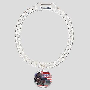 Trucking USA Charm Bracelet, One Charm