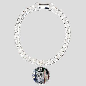 route_66 Charm Bracelet, One Charm