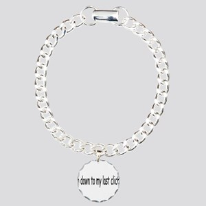 Last Cliche Charm Bracelet, One Charm